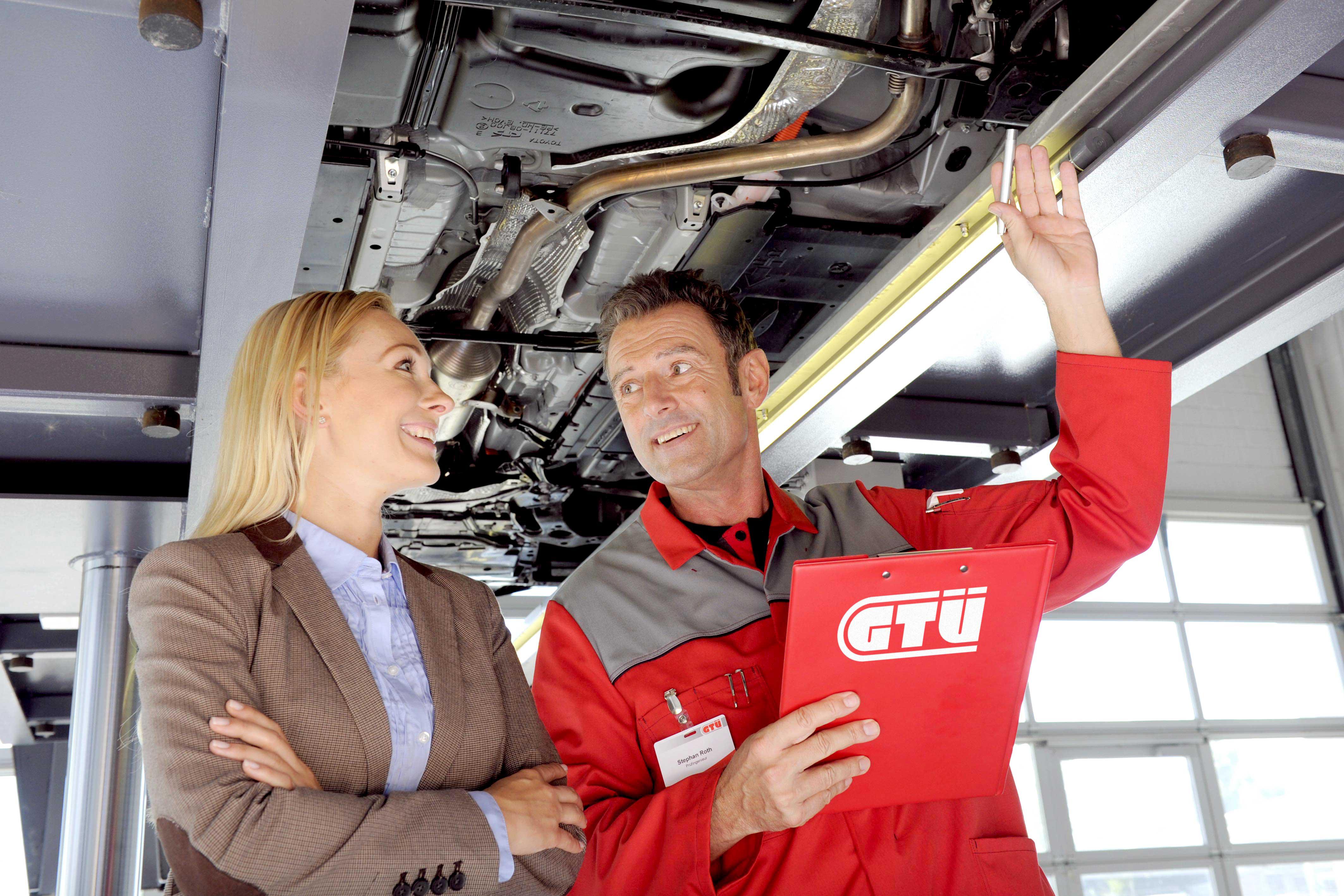 Sicher unterwegs, dank der GTÜ Sachverständigen der Lütz GmbH