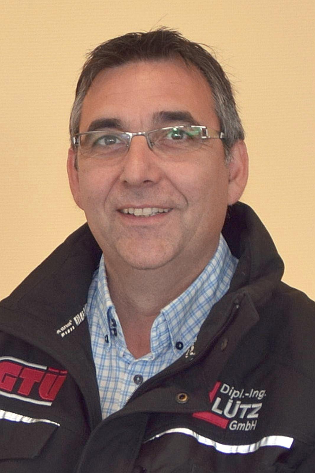 Mitarbeiter Frank Reucher