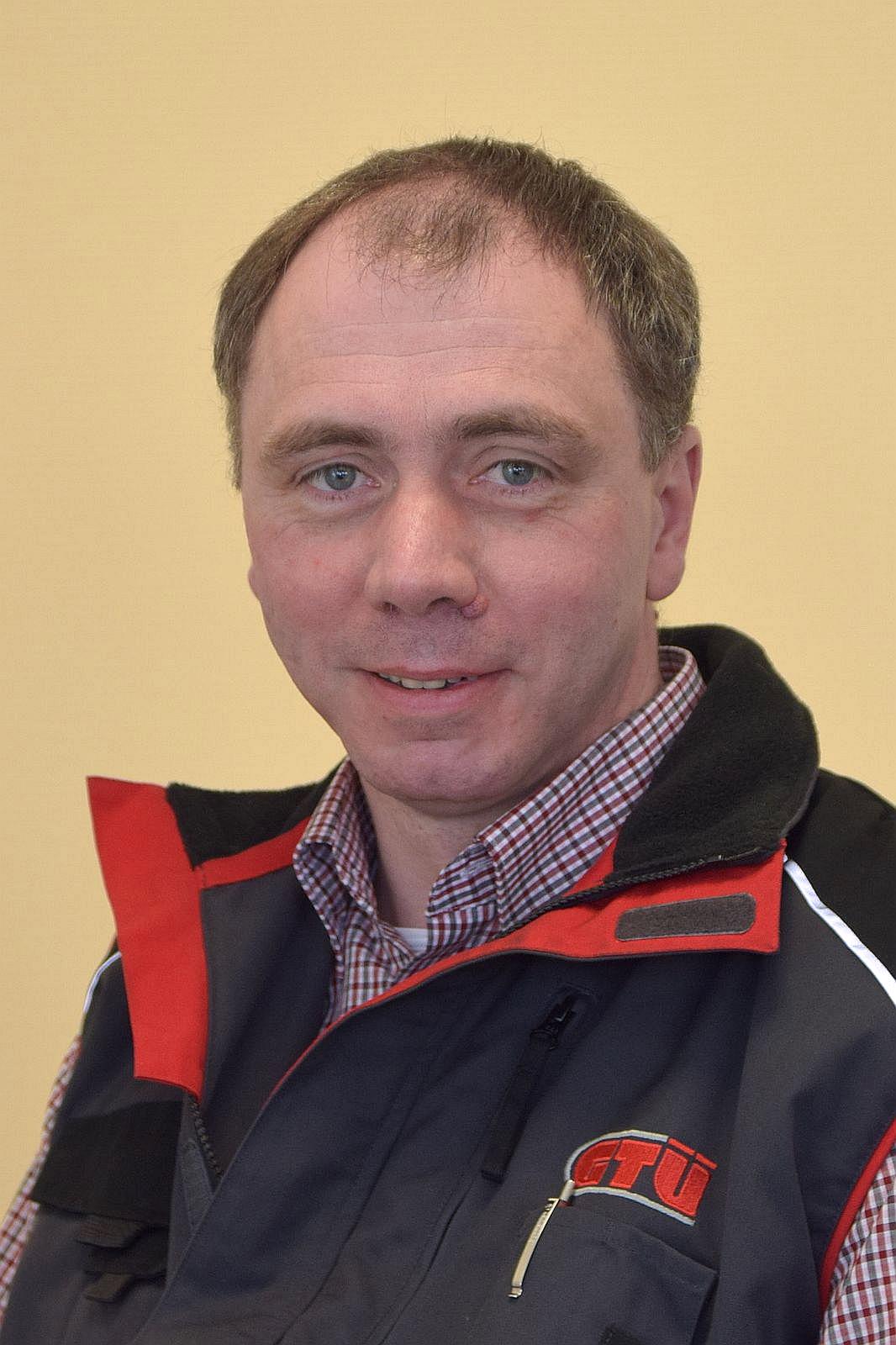 Mitarbeiter Joern Uwe Herweg