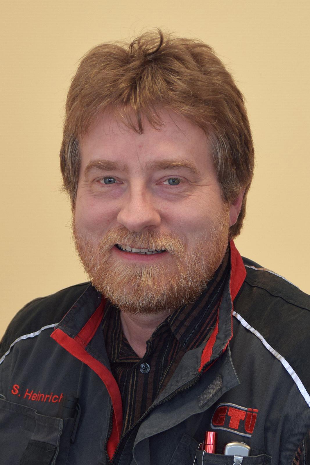 Mitarbeiter Stefan Heinrichs